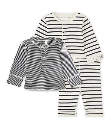 Conjunto de 3 prendas reversibles para bebé