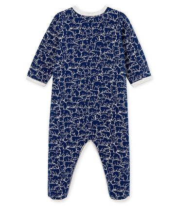 Pijama de muletón para bebé niño