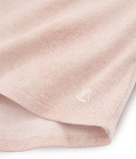 Camiseta de tirantes infantil para niña rosa Pearl / rosa Copper