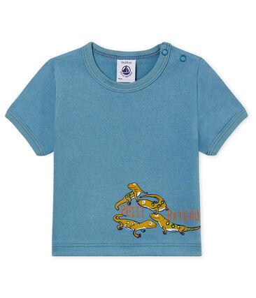 d51ce172c Camiseta manga corta con motivos para bebé niño