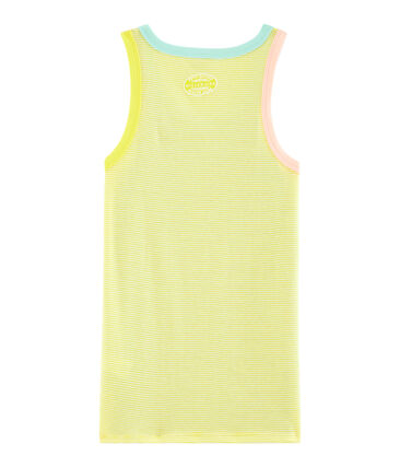 Camiseta de tirantes icónica para mujer blanco Multico