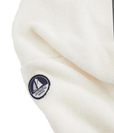 Sudadera polar de borreguillo para niño blanco Marshmallow