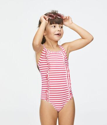 Traje de baño con protección solar para niña null