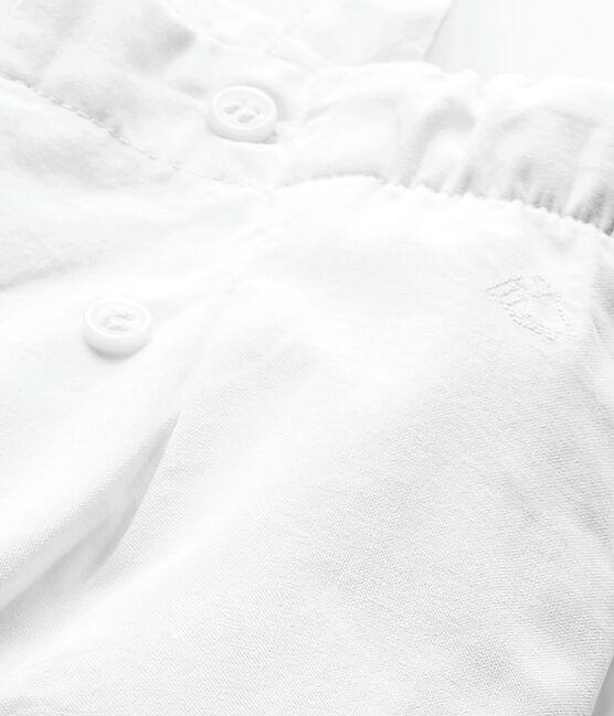 Peto de niña blanco Ecume