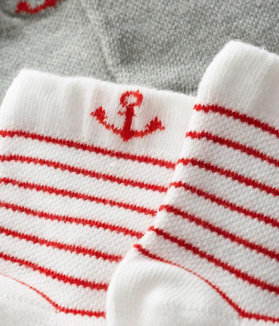 Lote de 2 pares de calcetines ligeros para bebé niño lote .