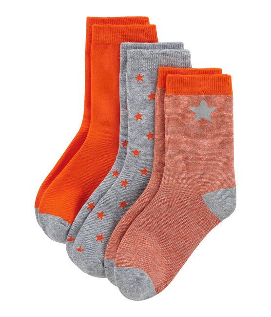 Juego de 3 pares de calcetines infantiles para niño lote .