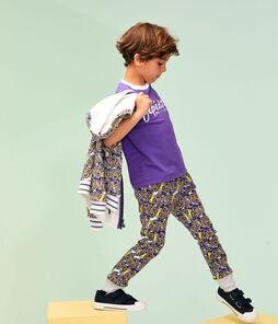 Camiseta de niño violeta Real