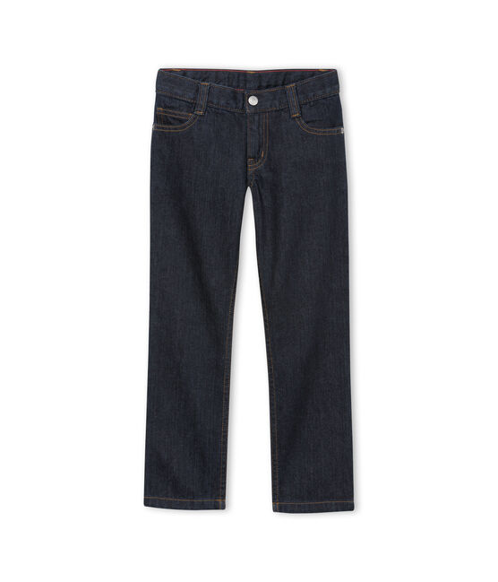Pantalón infantil para niño azul Jean