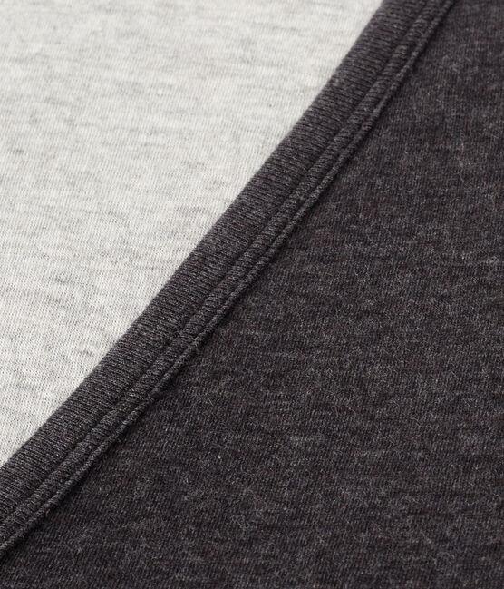 Cárdigan de tejido túbico extrafino para mujer gris City Chine