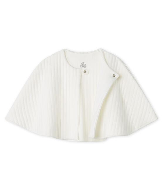 Capa de baño de túbico acolchado blanco Marshmallow