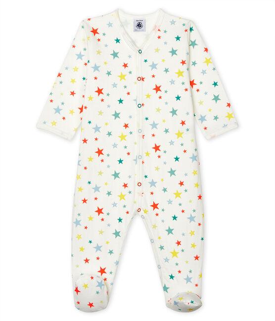 Pijama de túbico para bebé blanco Marshmallow / blanco Multico
