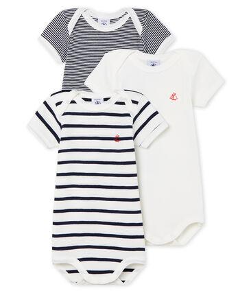 Trío de bodis de manga corta para bebé