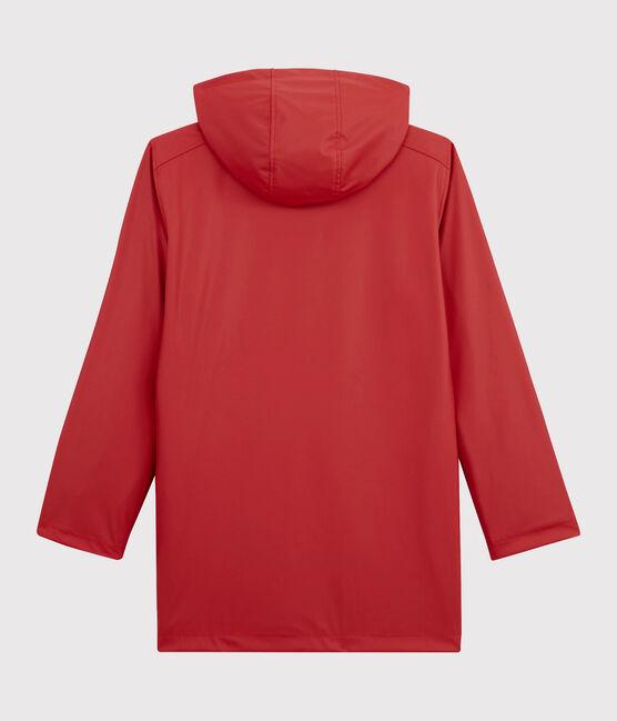 Impermeable icónico unisex rojo Terkuit