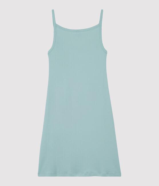 Vestido de tirantes para mujer azul Crystal