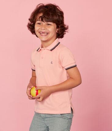 Polo manga corta infantil para niño