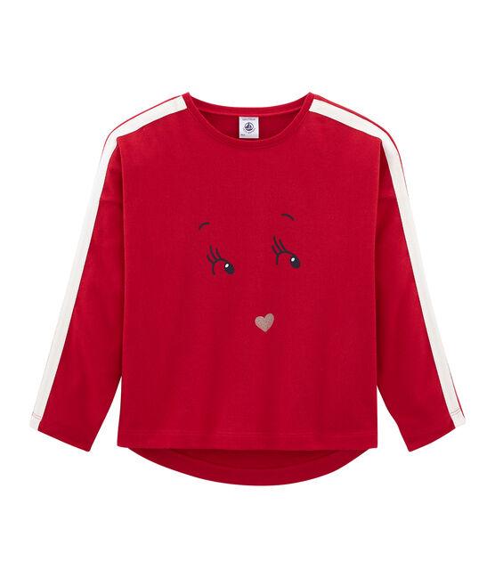 Camiseta manga larga rojo Terkuit