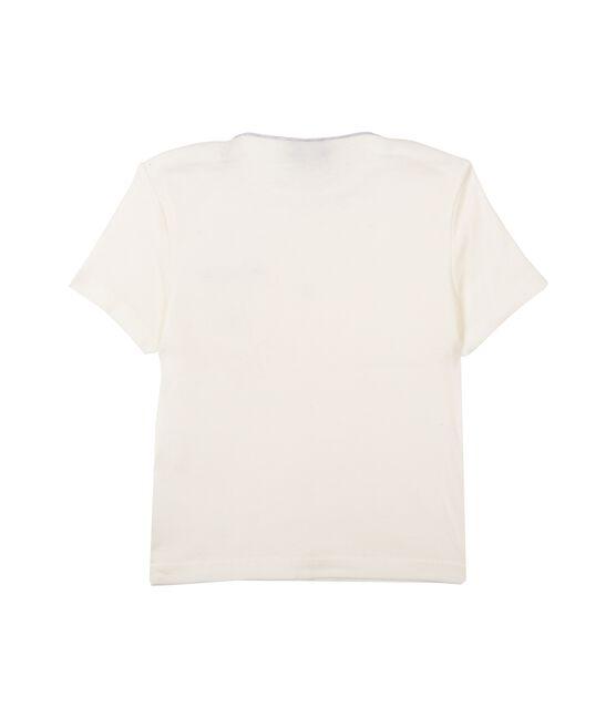 Tee shirt manches courtes bébé garçon blanco Marshmallow Cn