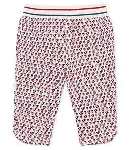 Pantalón de muletón estampado para bebé niña