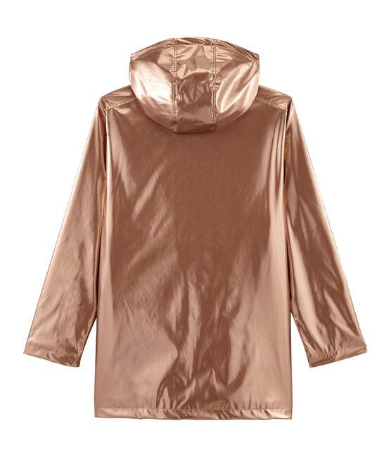 Impermeable emblemático para mujer rosa Copper