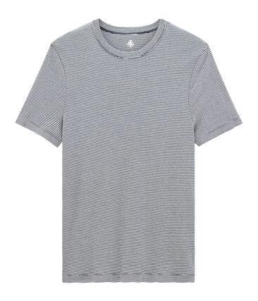 Camiseta manga corta de cuello redondo para hombre