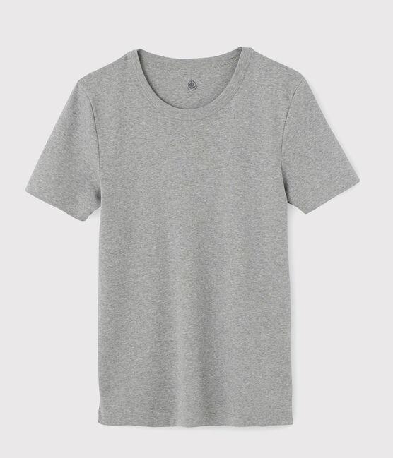 Camiseta de manga corta para hombre gris Subway