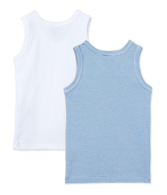 Lote de 2 camisetas sin mangas para chico lote .