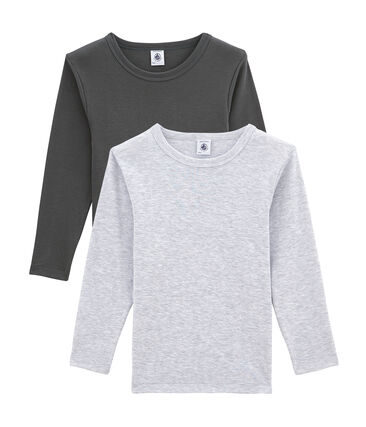 Pack de camisetas de manga larga para niño