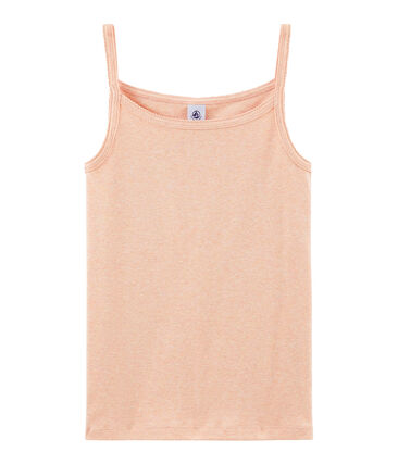 Camisa con tirantes de mujer rosa Aster Chine