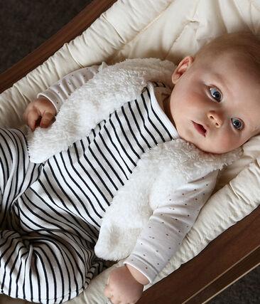 Chaleco de bebé niña de borreguillo