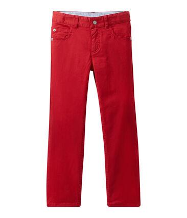 Pantalón colorido para niño en jean