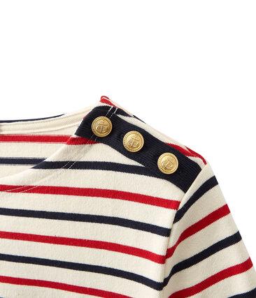 Marinera en jersey grueso tricolor para mujer