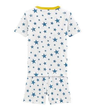 Pijama corto de punto para niño