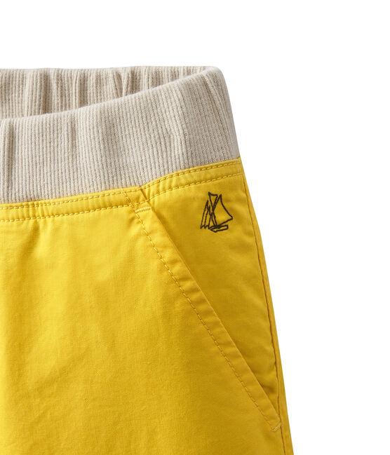 Short para niño amarillo Ble