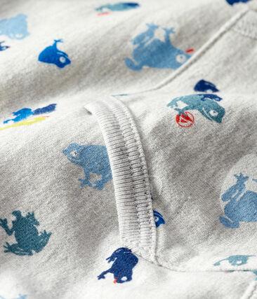 Sudadera estampada para bebé niño gris Beluga / blanco Multico