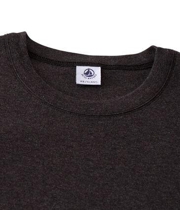 Camiseta de manga corta icónica de mujer gris City Chine