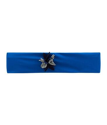 Turbante de baño infantil para niña azul Riyadh
