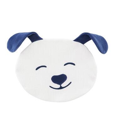 Funda para pijama de rizo picado blanco Marshmallow / azul Medieval