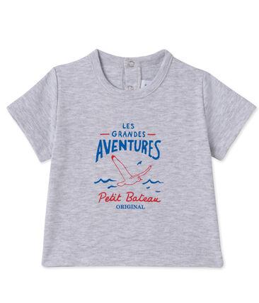 Camiseta serigrafiada para bebé niño