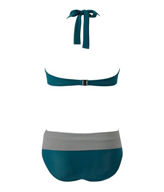 Bañador de 2 piezas para mujer verde Rivage