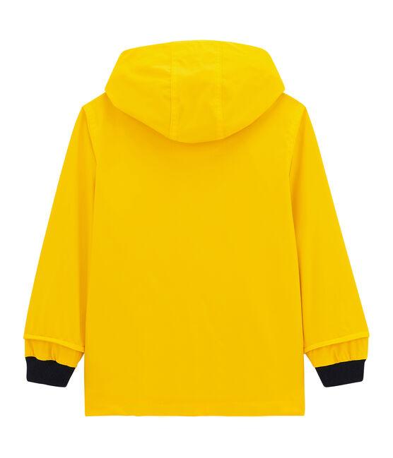 Impermeable emblemático infantil. amarillo Jaune