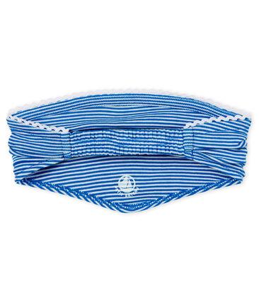 Pañoleta de rayas para bebé niña