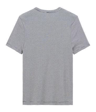 Camiseta de manga corta icónica con cuello redondo para hombre
