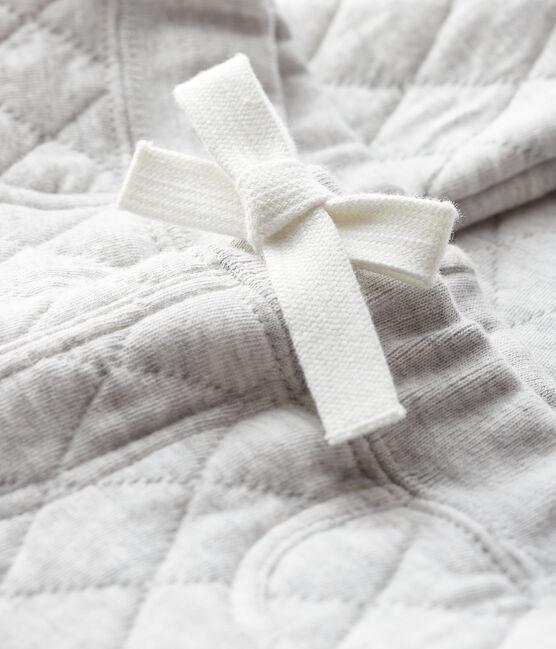 Pantalón de tejido túbico para bebé niño gris Beluga