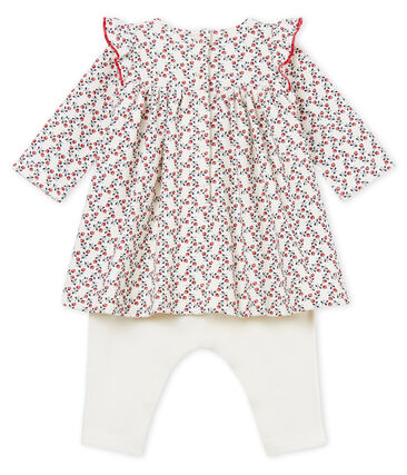 Vestido leggings manga larga para bebé niña