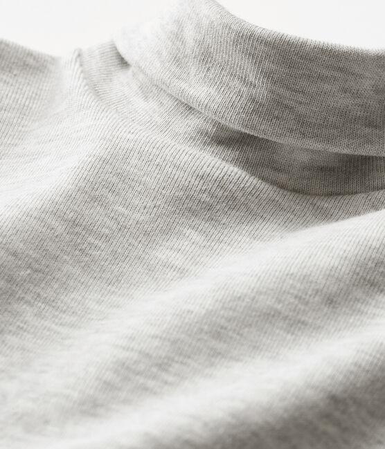 Body de manga larga y cuello redondo para bebé unisex gris Beluga