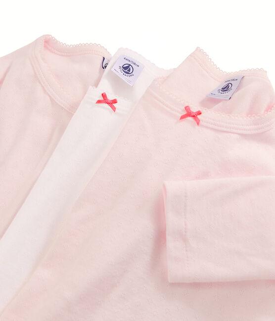 Lote sorpresa de 3 camisetas de manga larga para niña pequeña lote .