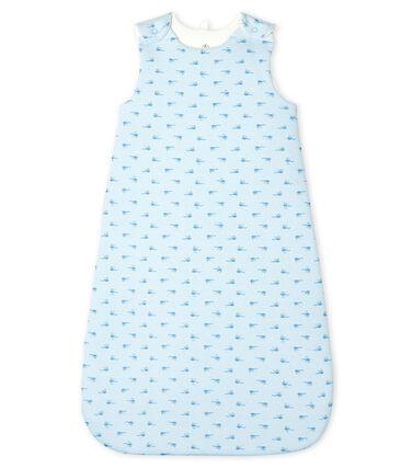 Saco de punto para bebé azul Fraicheur / blanco Multico