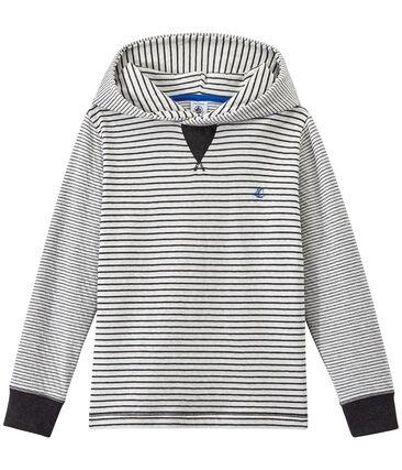 Camiseta de manga larga con capucha
