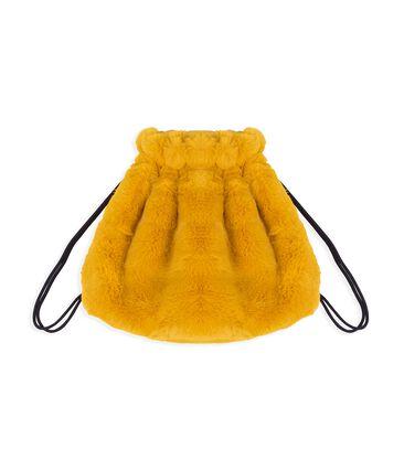 Mochila infantil para niña amarillo Boudor