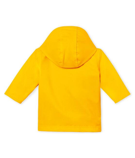 Chubasquero emblemático para bebé unisex amarillo Jaune